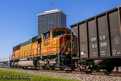 BNSF 9984 | EMD SD70MAC | NS Memphis District