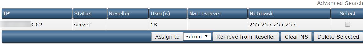 IP Management trong DirectAdmi - Chức năng IP Management trong DirectAdmin - iZdesigner