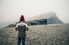 Loneliness at Trælanípan Cliff, Vágar (FAROE ISLANDS)