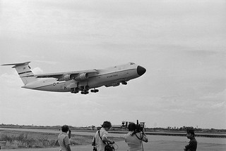 united-states-c5a-cargo-plane-US Plane Taking off the Runway