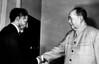 Emperor Haile Selasie meets Chinese leader Mao Tse Tung