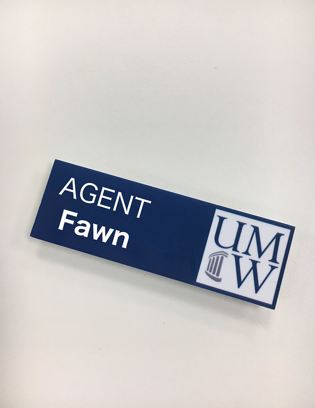 agent name tag