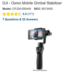This just happened!  ;) #djiosmomobile #osmomobile #gimbalstabilizer #tinastoys