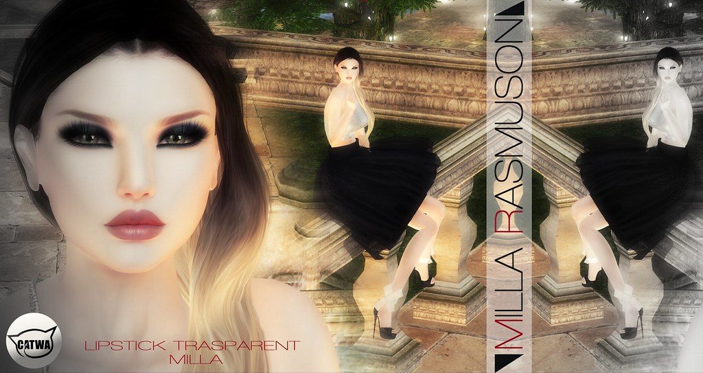 "MRM ""Milla Trasp."" Lipstick Classic/ Bento Catwa Head - SecondLifeHub.com"