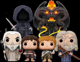 奇幻史詩冒險的超萌詮釋!FUNKO POP! MOVIE系列【魔戒】 Lord of the Rings 登場!