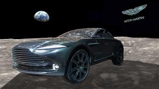 Aston Martin Lunar rover