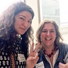I met @hechternacht, founder of #kinderchat, at @globaledcon's Global Leadership Summit today! #globaled #globaled17