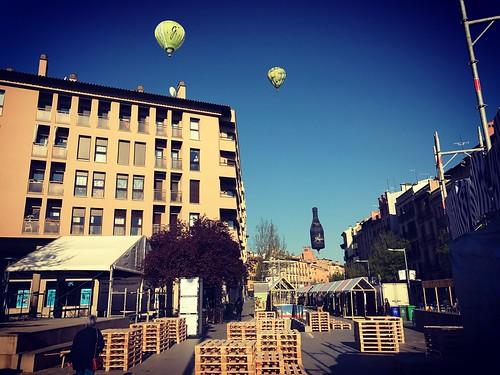 vic catalunya cataluña globos sky mercatdelram baloon