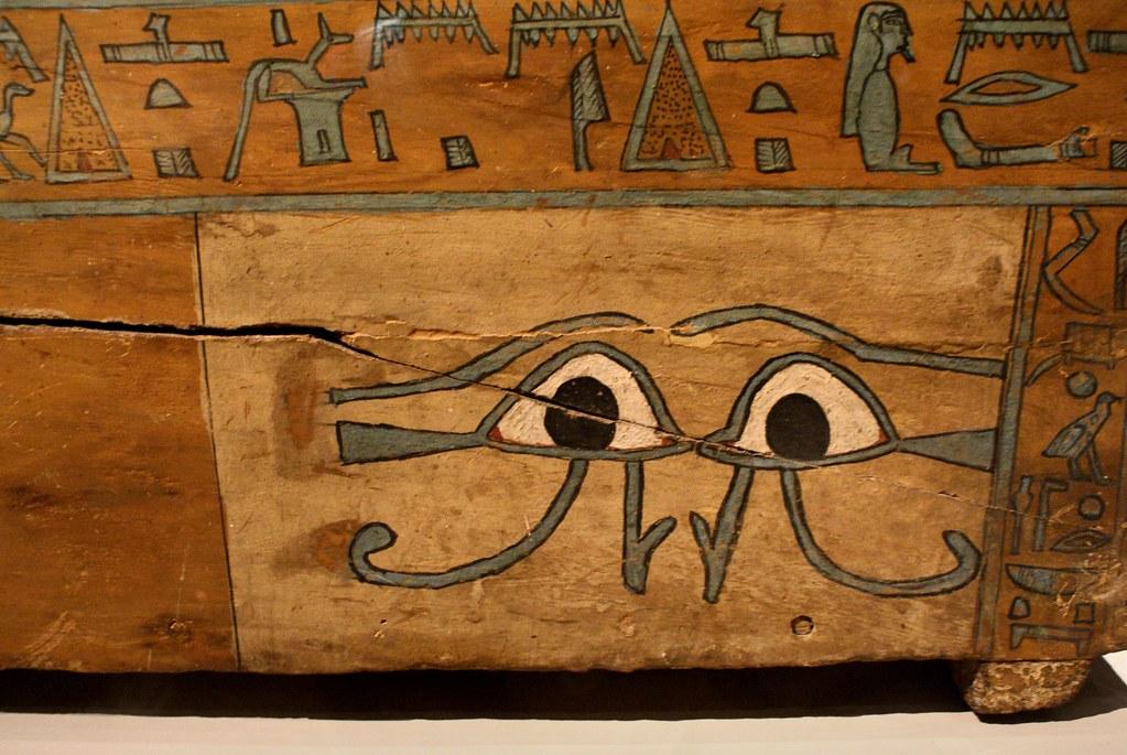 Illustration d'un tombeau dans la musée égyptien de Turin.