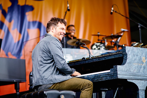 Harry Connick, Jr. on April 28 2017 Day 1 of Jazz Fest. Photo by Eli Mergel