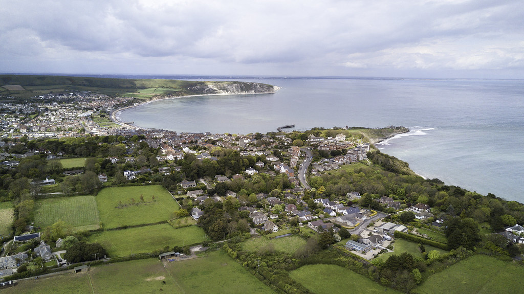 swanage and durlston bay - Click to show full size