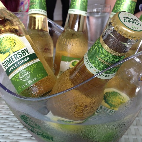 Somersby #Cider in a bucket. #bliss
