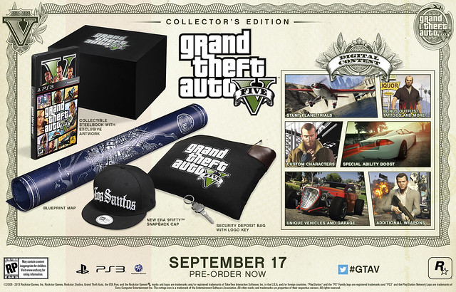Grand Theft Auto V Collector's Edition (Short)
