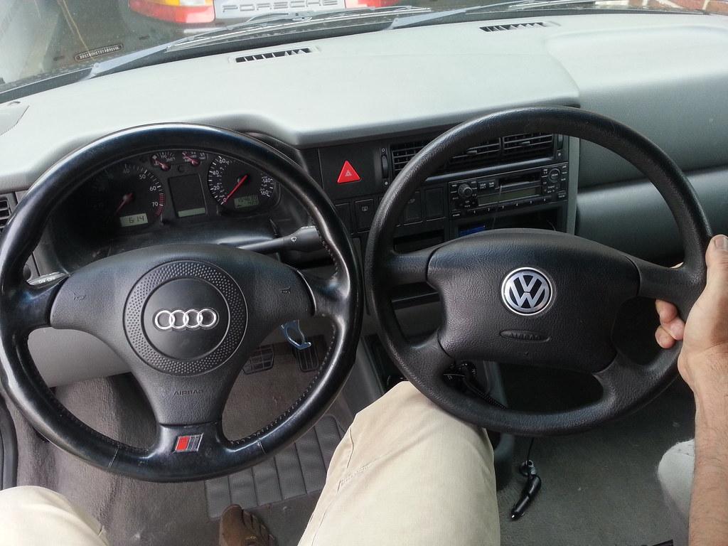 VWVortex.com - T4 Eurovan steering wheel spline