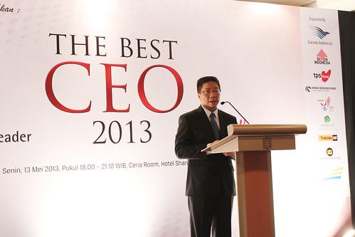 The Best CEO & Indonesia Future Business Leader Award 2013 ~ Presentasi Iwan Murty.