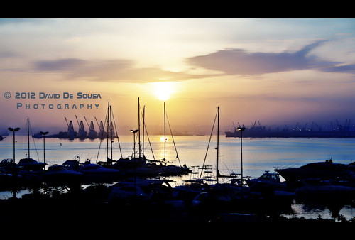 africa sunset water sunrise island bay ship ilha angola luanda clubenáutico nauticalclub