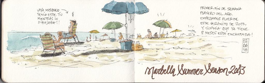 Marbella Playa - Raul Leon