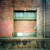 #pdx #portland #city #grunge #decay #brick #door #oldbuilding #industrial