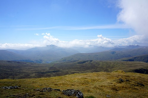 Looking Southwest to Loch Lyon and Beinn Sheasgarnaich