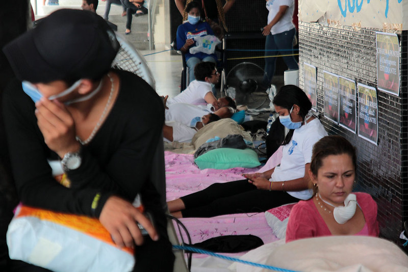 Huelga de hambre en luz