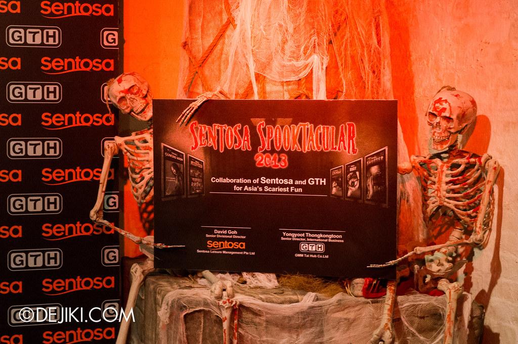 Sentosa Spooktacular Press Con