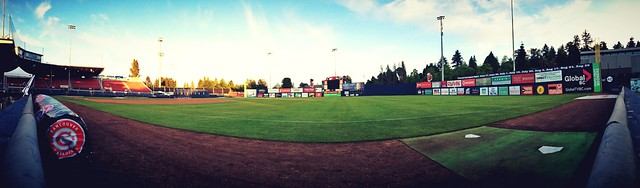 [PIC] Great night at Nat Bailey/Scotiabank Field: