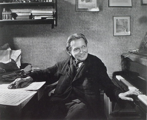 George Enescu, 4 iunie 1954 by peromaneste