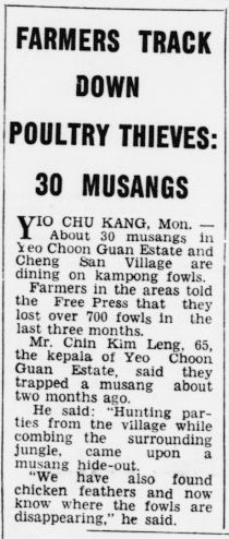 The Singapore Free Press 15 August 1960