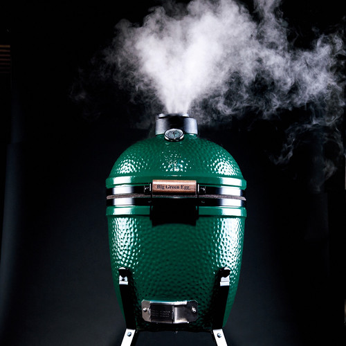 Big Green Egg Smoking - Credit Danny Kim