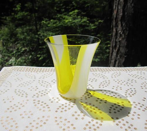 黄色いグラス by Poran111