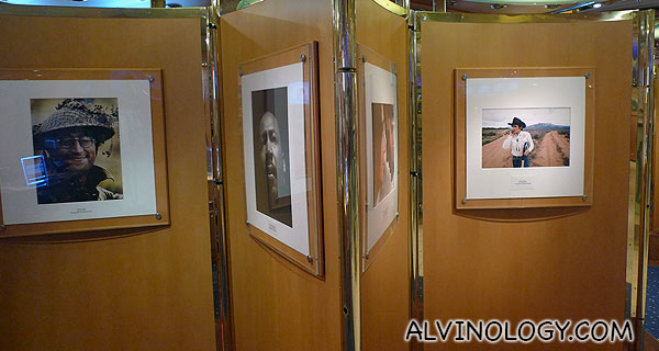 Photography gallery featuring many celebrities like John Lennon here