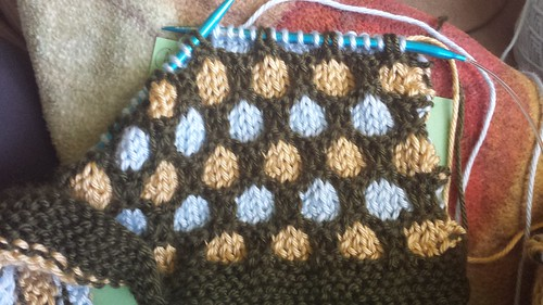 honeycomb in progress