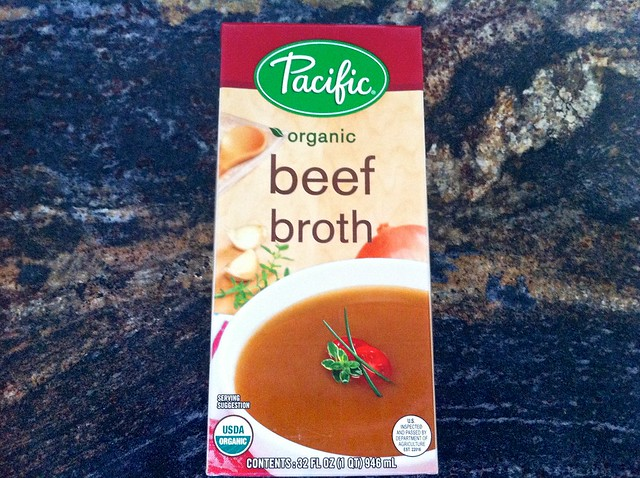Quart of Organic Beef Broth