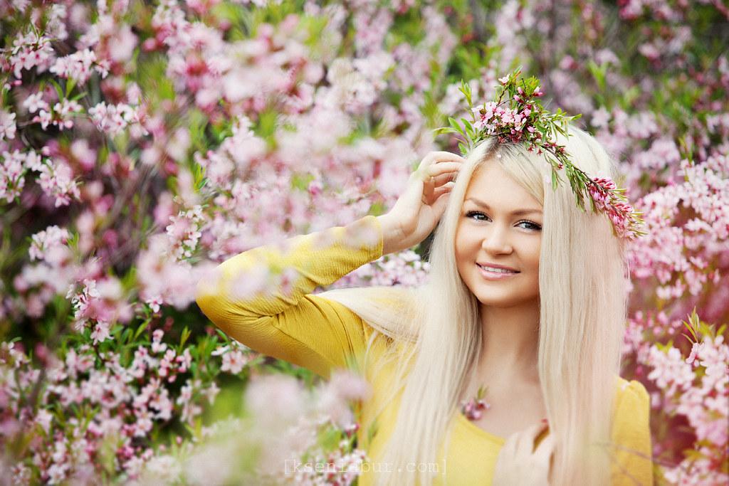 Весенняя фотосессия девушки на природе, фотосессия девушки