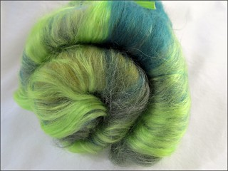 Green Layered batt
