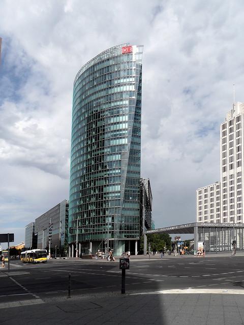 Bahntower, Potsdamer Platz