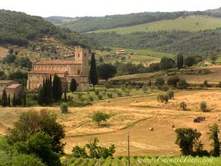 Sant'Antimo Abbey (Tuscany, Italy)