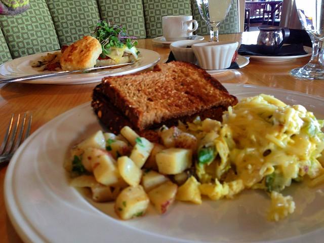 ベストウェスタンの朝食