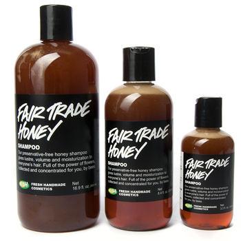 Fair Trade Honey Shampoo