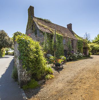 Traditional Guernsey farmhouse