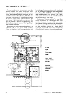 "Palmer & Krisel - ""Psychologically Planned"" Homes 3 of 8"