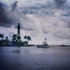 Hillsboro Inlet, Florida #iwitnessweather #instagram_florida #instayacht #instaflorida #FortLauderdale #istabilizer #Florida