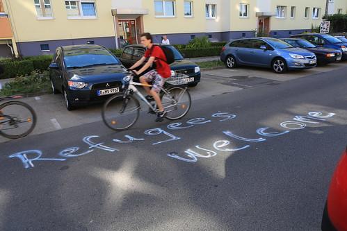 refugees welcome - gegen rassismus IMG_9957