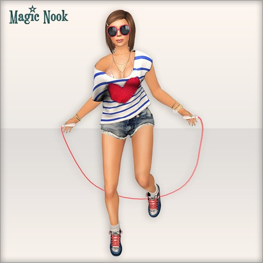 [MAGIC NOOK] Skipping Rope Gatcha MESH - Close Up