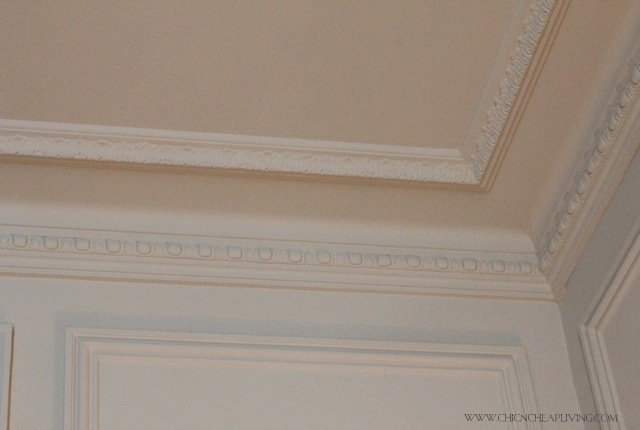 Trianon Versailles Waldorf Astoria room molding - by Chic n Cheap Living