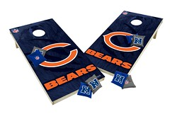 Chicago Bears Custom Cornhole Boards XL