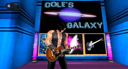 Bono at Cole's Galaxy! by ZZ Bottom