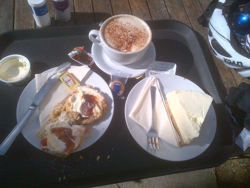 Kilnwick Percy coffee, scones and cheese cake