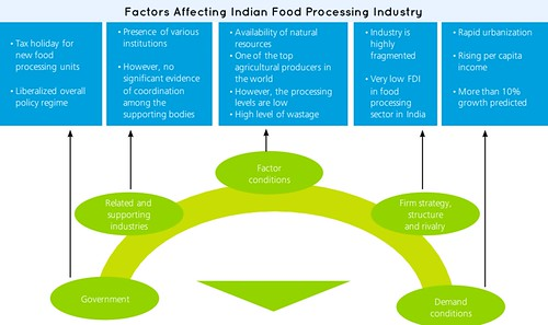 factors affecting indian food industry
