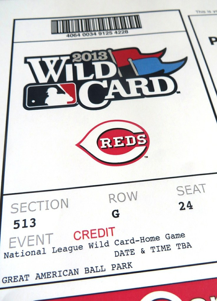 NL Wild Card Tickets